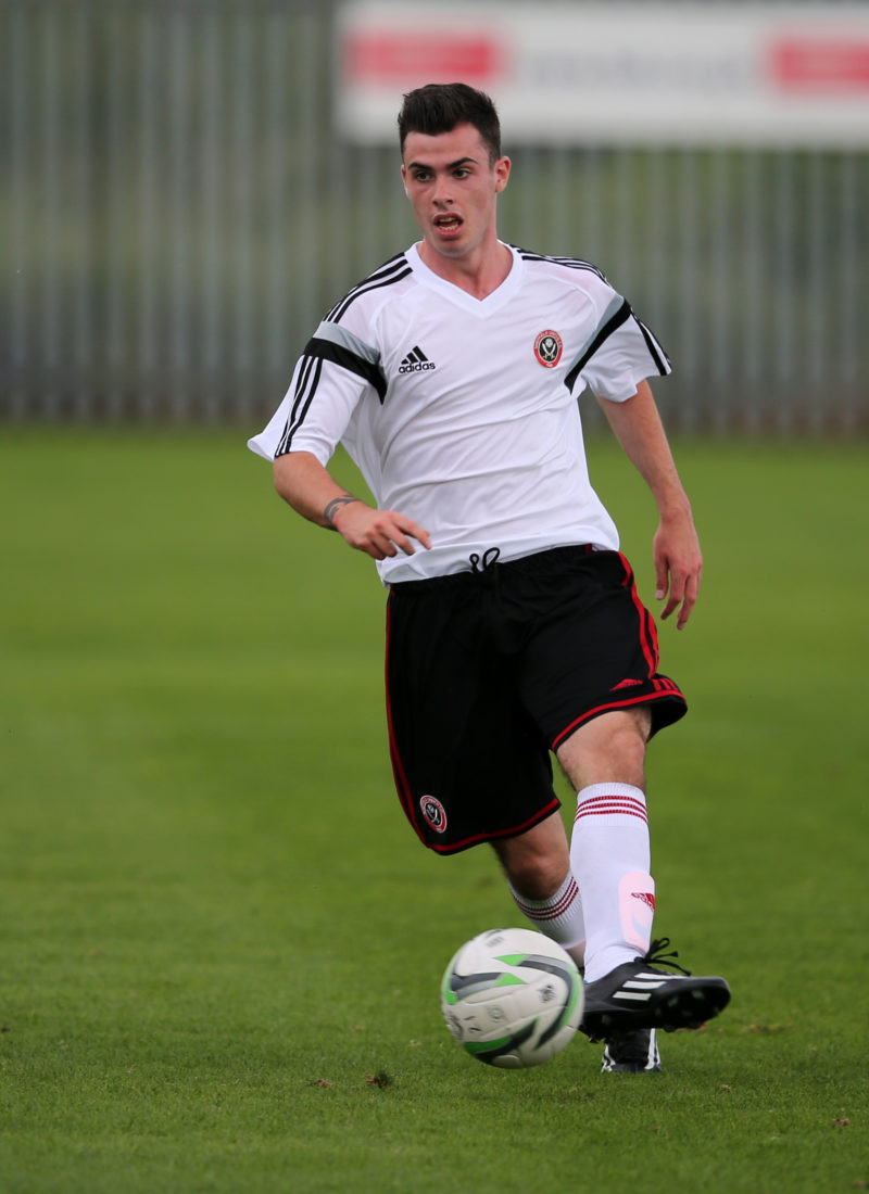 Sheffield United u18's v Chesterfield u18's    12.7.14 pic : Martyn Harrison - Sheffield United   © BLADES SPORTS PHOTOGRAPHY